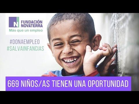 669 niños tienen una oportunidad gracias a Novaterra