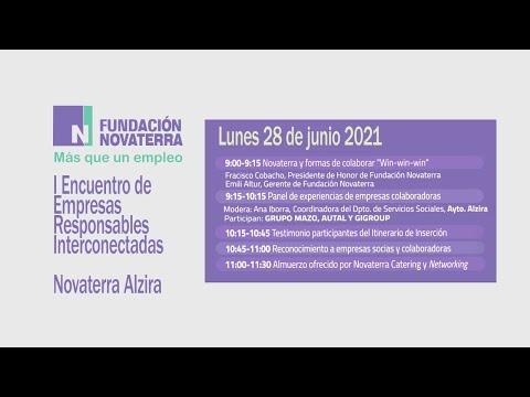 I Encuentro de Empresas Responsables Interconectadas - Novaterra Alzira
