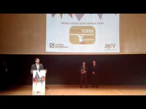 2017 Premio AJEV a la Joven Empresa Social a Novaterra Catering Sostenible