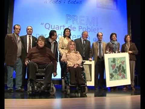 ENTREGA PREMI DRETS HUMANS 2011 de Quart de Poblet a Paco Cobacho