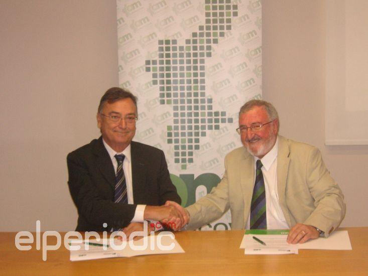 Novaterra firma acuerdos de colaboración con la Fundación Española de la Madera, Escuelas Católicas de la Comunidad Valenciana y La Caixa