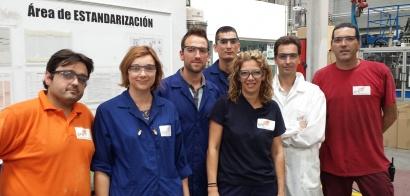 Voluntarios de SPB imparten un curso de Prevención de Riesgos Laborales a usuarios/as de Novaterra