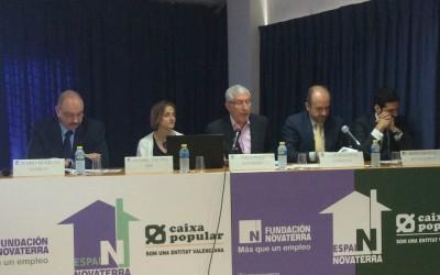 Medio centenar de empresas valencianas analizan cómo hacer frente a la exclusión social en un desayuno organizado por Fundación Novaterra