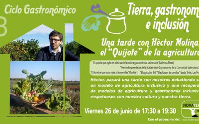 [26 Junio] Taller de agricultura ecológica y semillas con Hèctor Molina