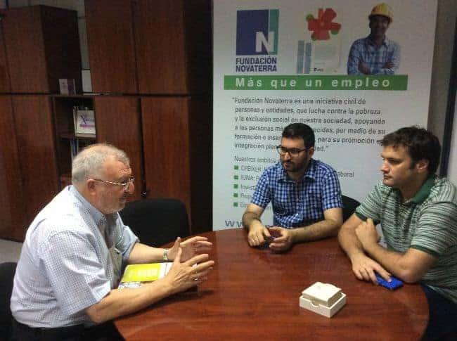 Podemos visita la Fundación Novaterra para conocer su compromiso contra la exclusión social en Valencia