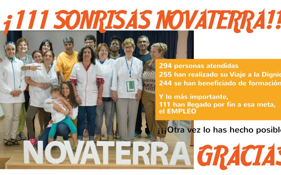 ¡¡111 sonrisas Novaterra!! Memoria 2016