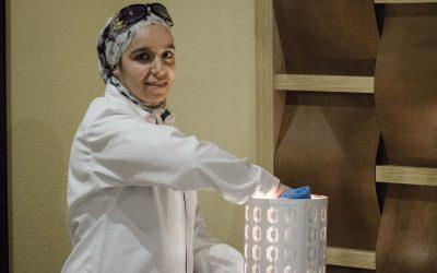 "Khadija: ""He encontrado mi primer trabajo en una empresa gracias a Novaterra"""