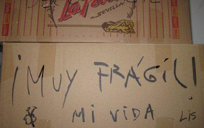 Alejandro: mi vida está en cuatro cajas