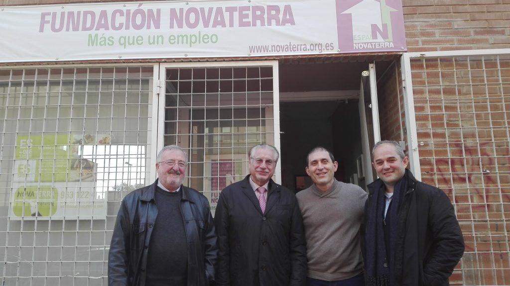 El Colegio de Ingenieros Industriales visita Novaterra