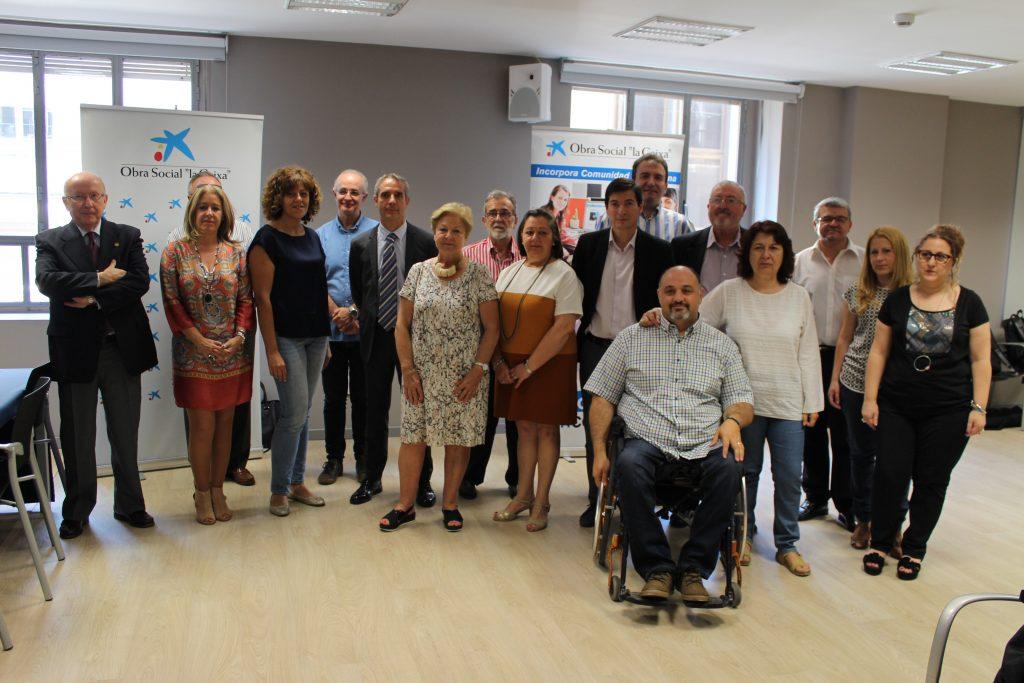 """La Fundación Novaterra renueva un año más su convenio con el programa Incorpora de """"la Caixa"""""""