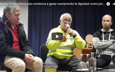 Alberto: En Novaterra uno comienza a ganar nuevamente la dignidad como persona