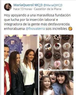 La gastronomía valenciana unida para recaudar fondos para la Fundación Novaterra