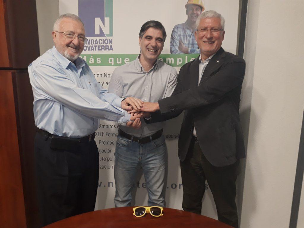 Happyforce y Novaterra se alían para poner la tecnología Happy al servicio de la inclusión social