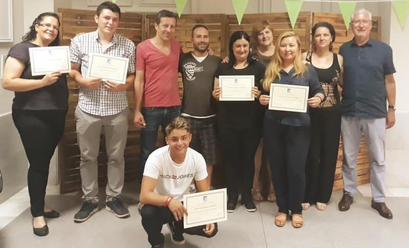 Medio centenar de personas reciben formación para el empleo en Fundación Novaterra gracias a La Caixa