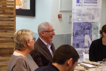 Fotogalería de la visita de Muhammad Yunus, Nobel de la Paz, a Valencia coordinada por Fundación Novaterra