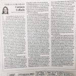 """Carmen collado"""" ´La plataforma´, un nuevo modelo de explotación laboral"""""""