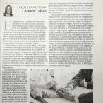 """Carmen Collado """"Empoderar a los trabajadores para lograr un trabajo digno"""""""