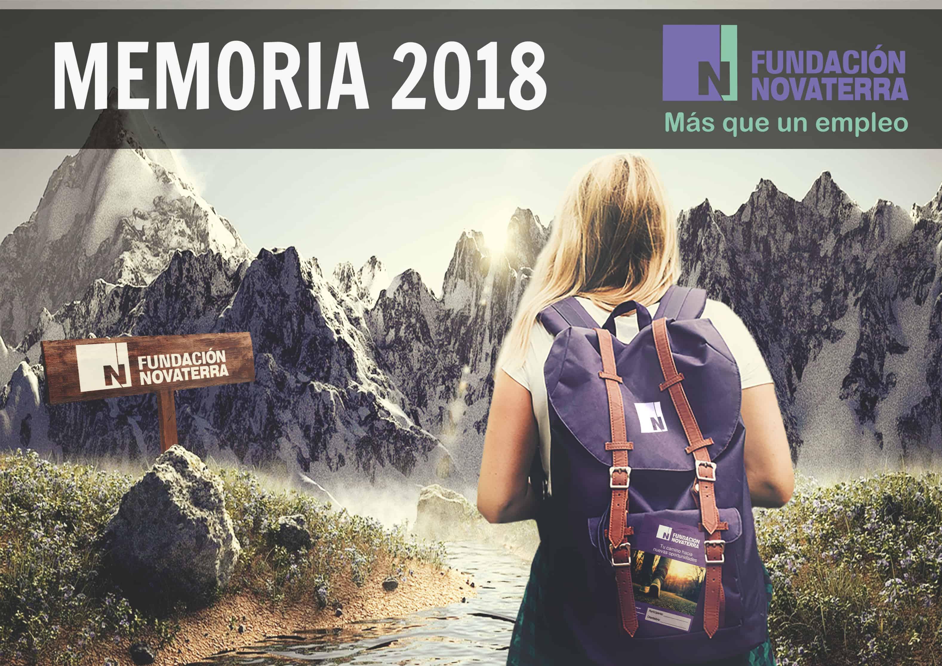 ¡272 Sonrisas Novaterra en la Memoria de 2018!