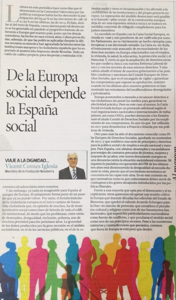 Europa Social Vicent Comes