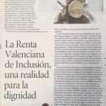 """Amelia López:""""La Renta Valenciana de Inclusión, una realidad para la dignidad"""""""