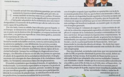 """""""Por un nuevo paradigma de la Seguridad Social"""", Carmen Collado y Roberto Blasco"""