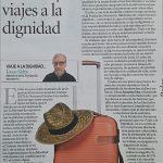 """Joan Sifre: """"Trabajo decente y viajes a la dignidad"""""""