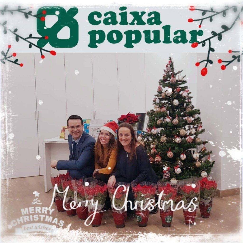 Caixa Popular y Fundación Novaterra unidas por una Navidad solidaria con los más vulnerables