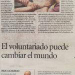 El voluntariado puede cambiar el mundo: Fernando del Rosario