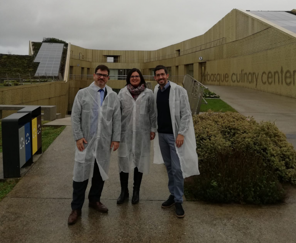 Novaterra visita el Basque Culinary Center en busca de sinergias