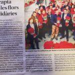 Novaterra recapta 35.000€ amb les flors de Pasqua solidàries