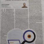 El estado de la investigación en España, por Roberto Albero