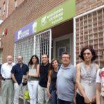Visita de Diego Gómez, Alcalde del Ayuntamiento de Alzira, con su amplio equipo de gobierno
