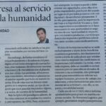 "Christian Mecca: ""La empresa al servicio de la humanidad"""