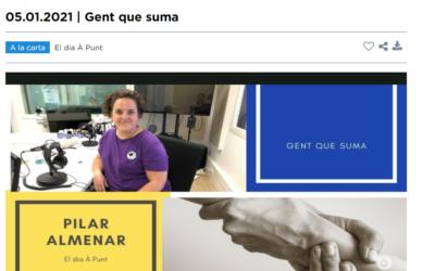 Entrevista en À Punt Media. Hablamos sobre Dona Emprèn y el proyecto «Natural Snaks»