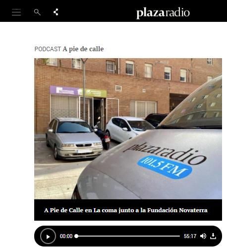 """""""A Pie de Calle"""" de Plaza Radio desde Novaterra"""