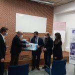 La empresa Amcor dona a Novaterra 2.000€ y 800 mascarillas
