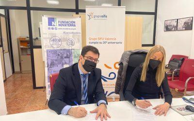 Grupo Sifu y Novaterra: nueva alianza para promover la inclusión social