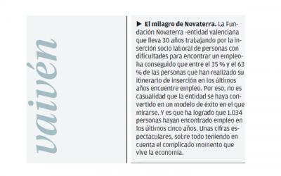 """Vaivén Levante EMV """"EL milagro Novaterra"""""""