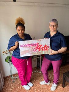Nuevo emprendimiento femenino nace: Acompany-Arte 👩