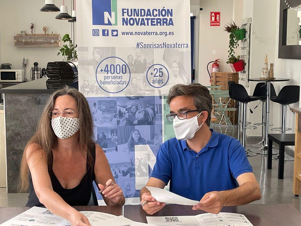 Radio Ecca y Novaterra se alían para promover la inclusión social