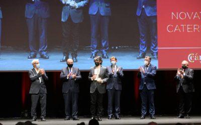 Novaterra Catering recibe el Premio a la Empresa Socialmente Comprometida en la Noche de la Economía Valenciana 2021