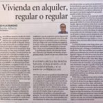 Vivienda en alquiler, regular o regular, por Roberto Albero